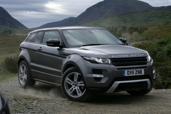 Range Rover Evoque is one of 35 Car of the Year 2012 candidates.