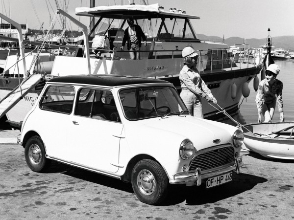 Mini - the car that changed everything for BMC in 1959.