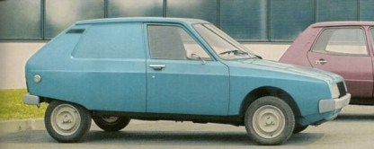 Citroen Projet Y was underpinned by Fiat 127 engineering