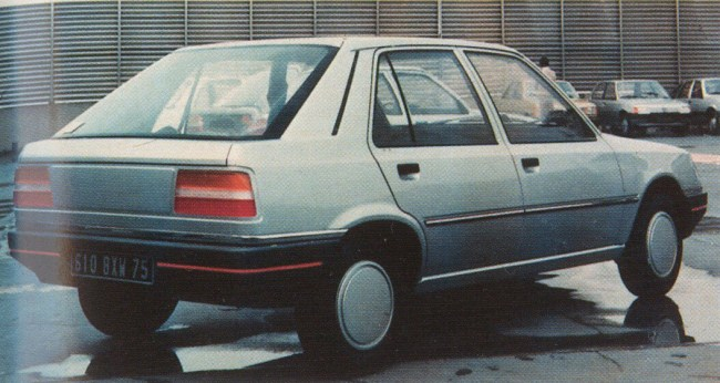 Pre-production prototype of the Talbot Arizona: a Peugeot by any other name.