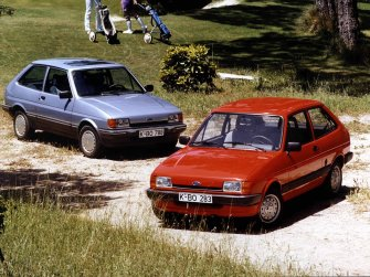 The Ford Fiesta received a facelift in 1983. It wasn't exactly comprehensive, but it didn't stop it remaining the UK's favourite supermini.