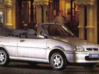 The cars : Rover Metro/100 cabrio