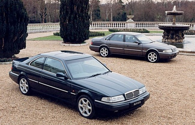 The cars : Rover 800 development history