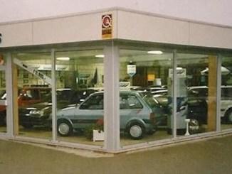 1980s Austin Rover dealership