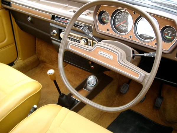 Austin Allegro Series 1 wheel in all of its quartic glory.