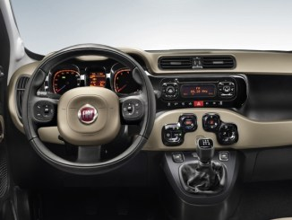 Fiat Panda proudly boasts a quartic steering wheel.