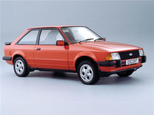 Overhyped and over here : Ford Escort XR3/XR3i