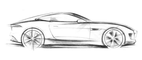 Jaguar C-X16 sketch