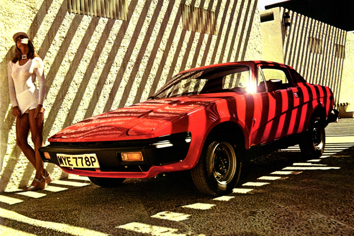 The cars : Triumph TR7/TR8 development story