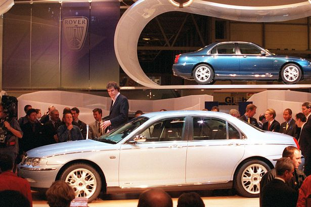 rover-75-birmingham-1998-launch