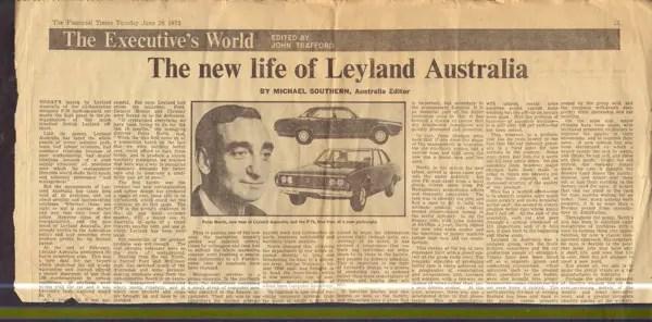 The new life of Leyland Australia