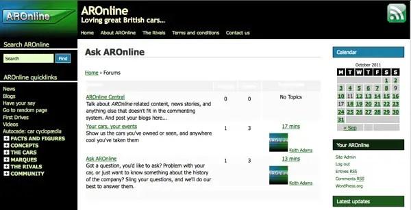 Ask AROnline here...