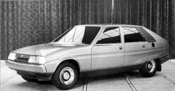 Triumph SD2 prototype