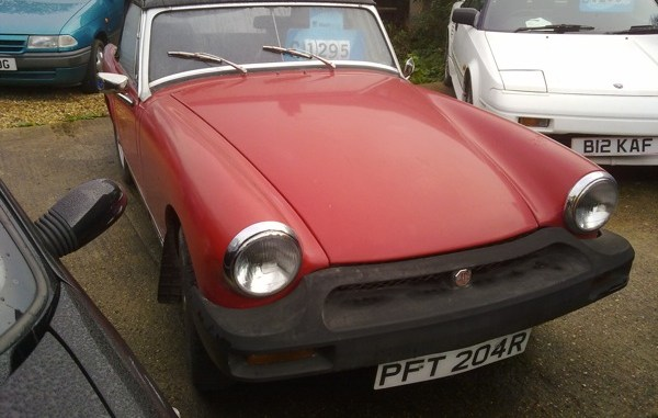 A grand should be enough to get you this Midget. With a freshly minted MoT...