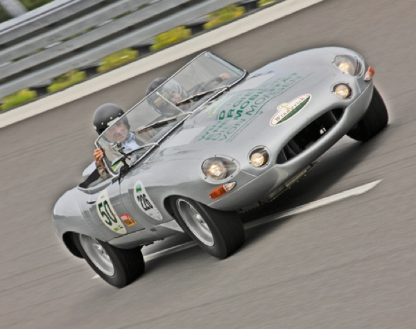 Electric Jaguar-E-type is a star of the RAC Future Car Challenge
