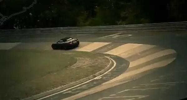 Jaguar XKR-S at Nürburgring