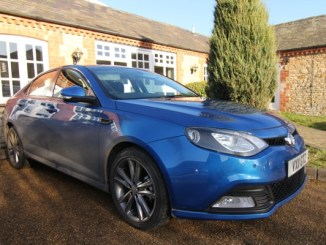 MG6 saloon is a smart looking proposition for the money.