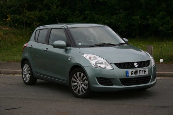 The Suzuki Swift - if the MG3 can emulate this car, then Longbridge will have something to smile about.