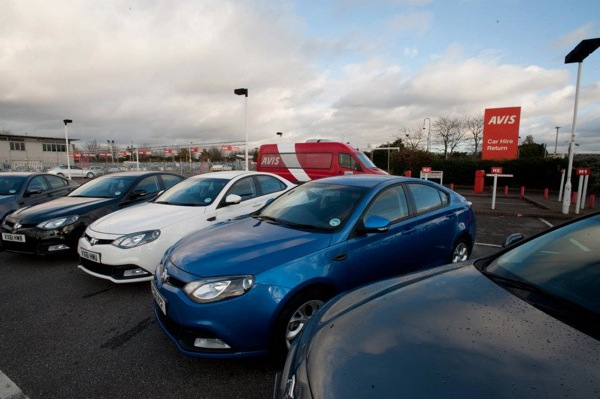 MG6s have been delivered to Avis at Heathrow