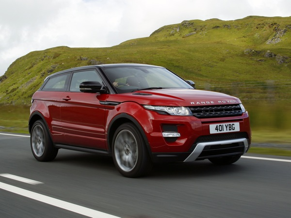 Range Rover Evoque - a world beater, and undoubted star of 2011