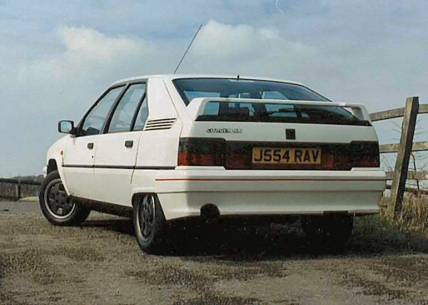 My first Citroen BX - I kept it nearly four years, and it was the start of a lasting obsession.