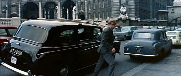 FX4 making a star appearance in the Ipcress Files