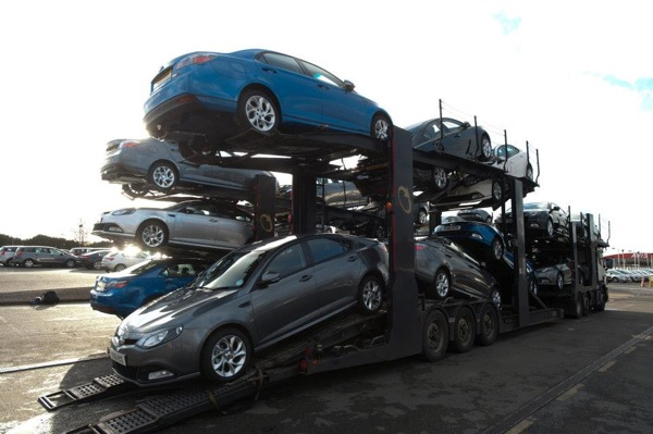 MG6 sales improved in December 2011