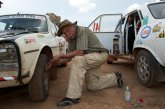 Moustache, hat and Peugeot in perfect harmony in Zambia. Jean-Pierre Demierre