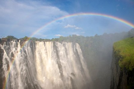 Seems a long time since Victoria Falls, but the crews have crossed Africa in less than two days