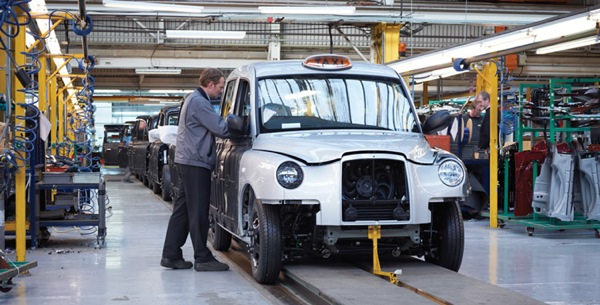 Production of the TX4 continues in the UK and China