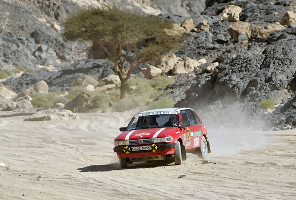 MG Maestro holds on to fifth after a challenging day
