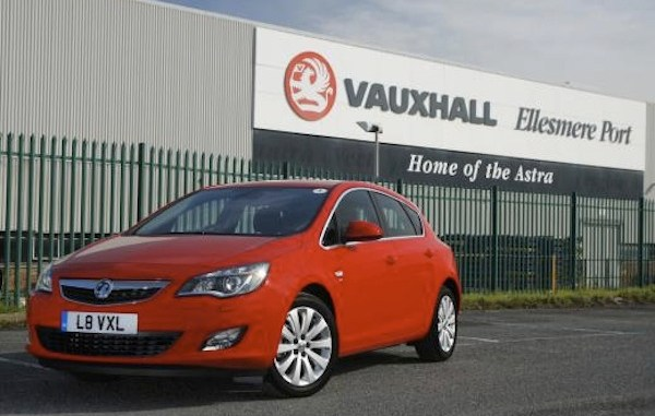 Vauxhall Astra production remains at Ellesmere Port - a clear message that UK car manufacturing has never been so healthy.