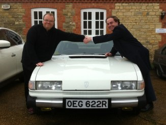 Keith Adams' Rover 3500 finds a new home