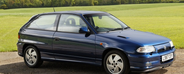 Vauxhall Astra GSi Mk3 is the latest addition to the Vauxhall fleet