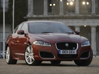 Jaguar XF is wins the HJ award for the most popular large executive car