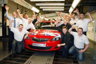 Double Celebration - 50 years on Merseyside and the the right to produce the up coming new Astra from 2013.