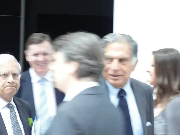 Ratan Tata at Geneva
