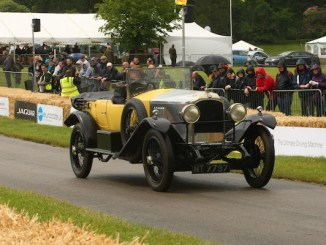 Vauxhall 30/98 at the Cholmondeley Pageant of Power