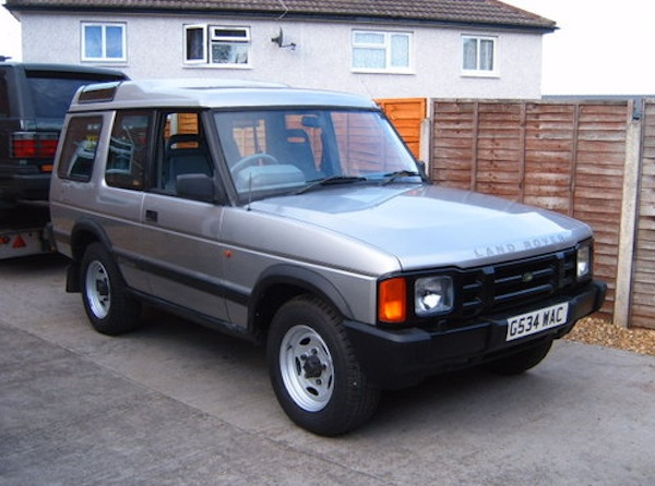 Land Rover Discovery G_WAC on eBay
