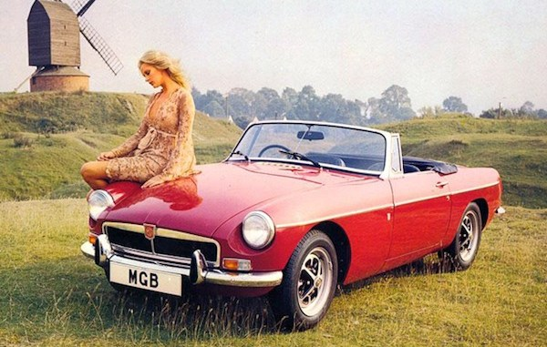 Evergreen MGB is actually only the second most popular pre-1980 classic on UK roads.