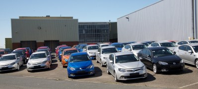 The latest batch of production MG6s