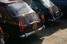 Innocenti chose to visually strengthen the fins when BMC decided to cut them off.