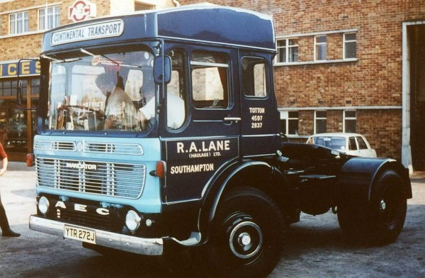 This V8 powered AEC Mandator with special high roof conversion matched European rivals for power but fell far short for space or sophistication.