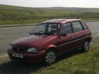 Ben's nan's Rover 100