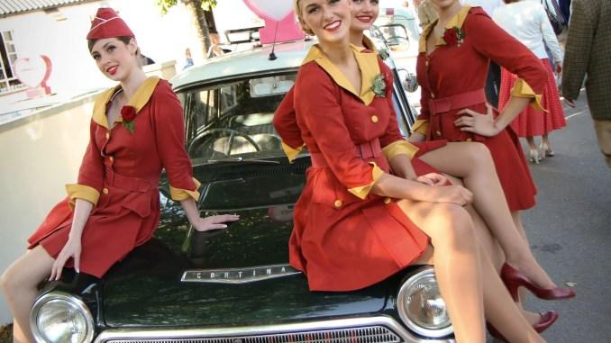 Ford Cortina at the Goodwood Revival (Adam Beresford)