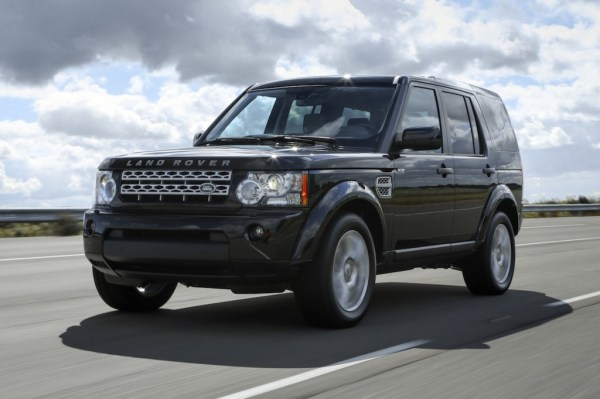 Land Rover Discovery 4 with HSE Luxury pack