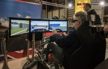 3D racing simulator