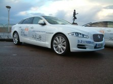 Jaguar Cars entered three Hybrid powered XJ_e models.