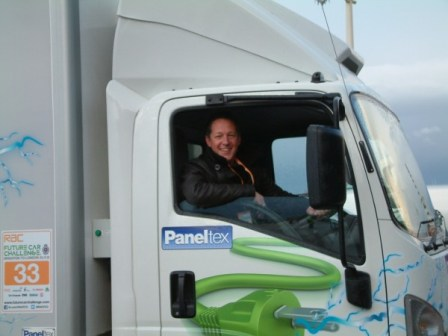 Actor and petrol head Tony Hirst expressed his fascination in the truck, a damn nice chap too!