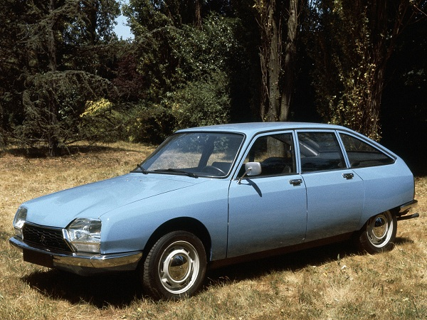 1971 car of the year, the Citroen GS